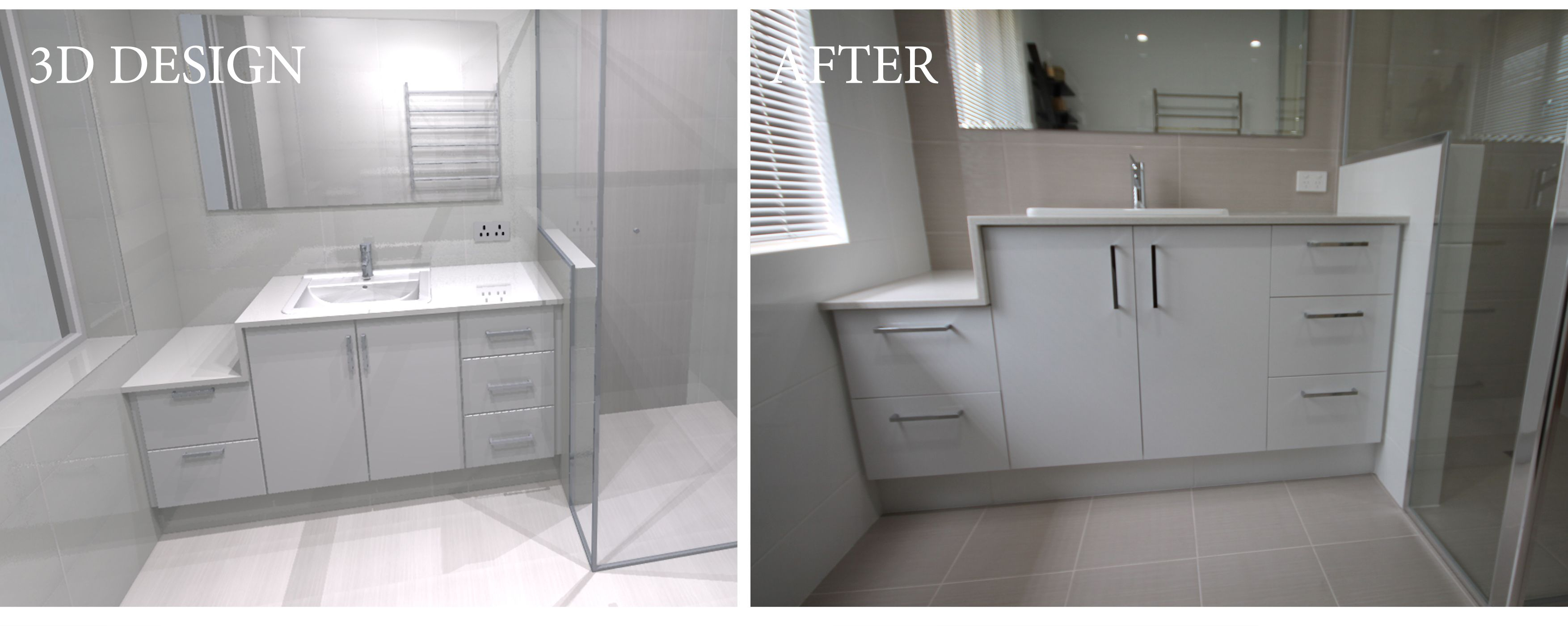 Designed and renovated by Bathroom Renovations Perth www ...