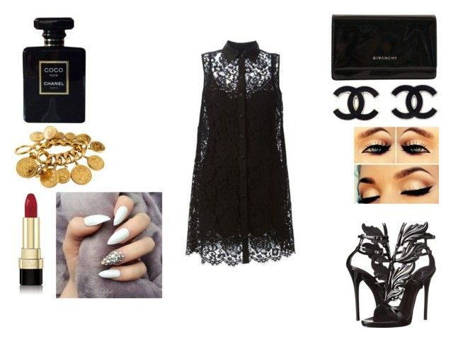 """black"" by amamisonodolce on Polyvore"