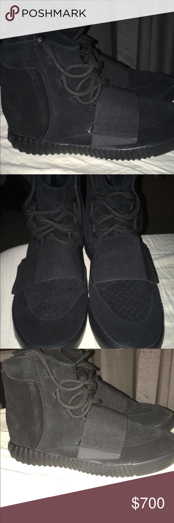 21694bf95 Adidas yeezy boost 750 triple black