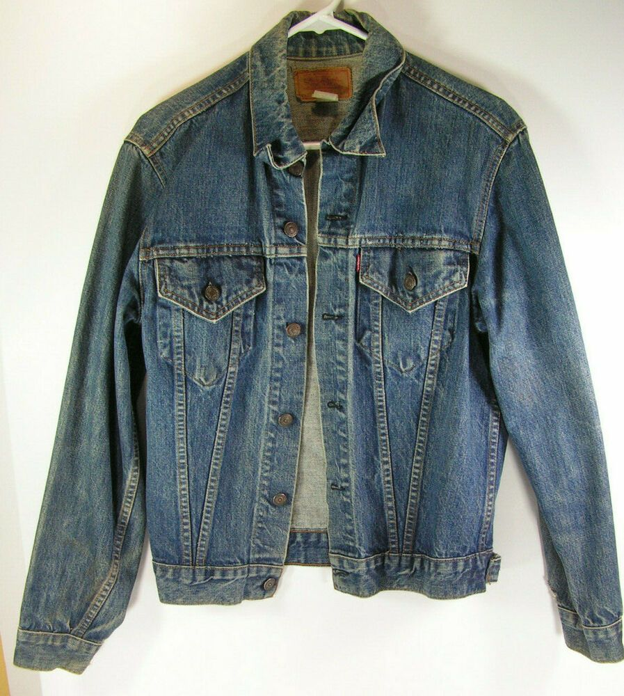 Vintage Levis Denim Jacket Size Men S Small S Blue Usa Made 1960s Cowboy Levis Cowboyjacket Levi Denim Jacket Vintage Levis Denim Jacket Denim Jacket