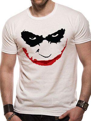 e5f627dea60  Batman the dark knight - joker smile outline  (unisex) -  t