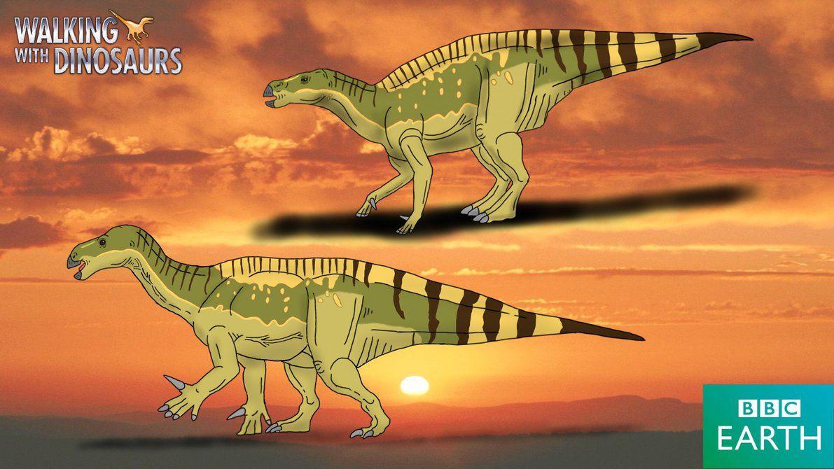 Iguanodon Bernissartensis Named By Gideon Mantell 1825 Diet