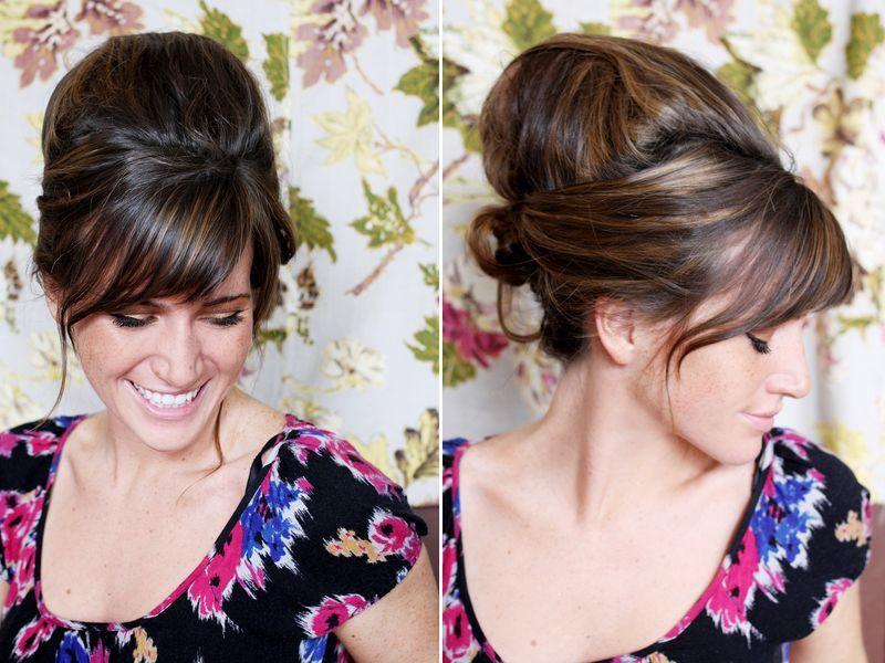 Beehive hairdo