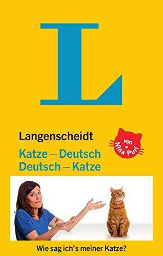 Katzen Übersetzer Langenscheidt Katze-Deutsch/Deutsch-Katze
