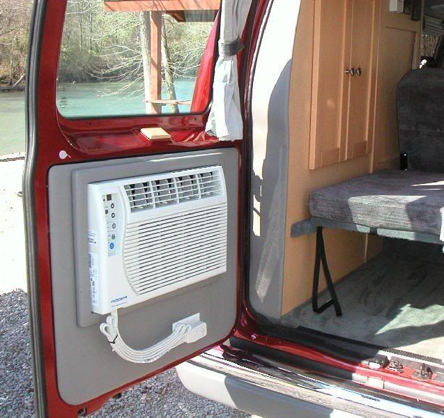 Installing A Rooftop Air Conditioner Diy Camper Van Running Off Battery Van Conversion Air Conditioner Diy Air Conditioner Diy Camper
