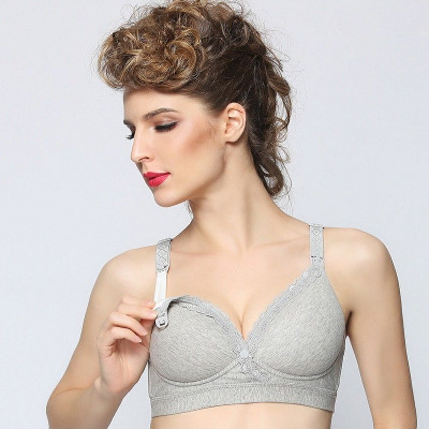 f93f5d445c853 Maternity Bra Maternity Clothing Cotton Breastfeeding bra for Pregnant  women Pregnancy Breast. Yesterday s price  US  10.99 (9.03 EUR).
