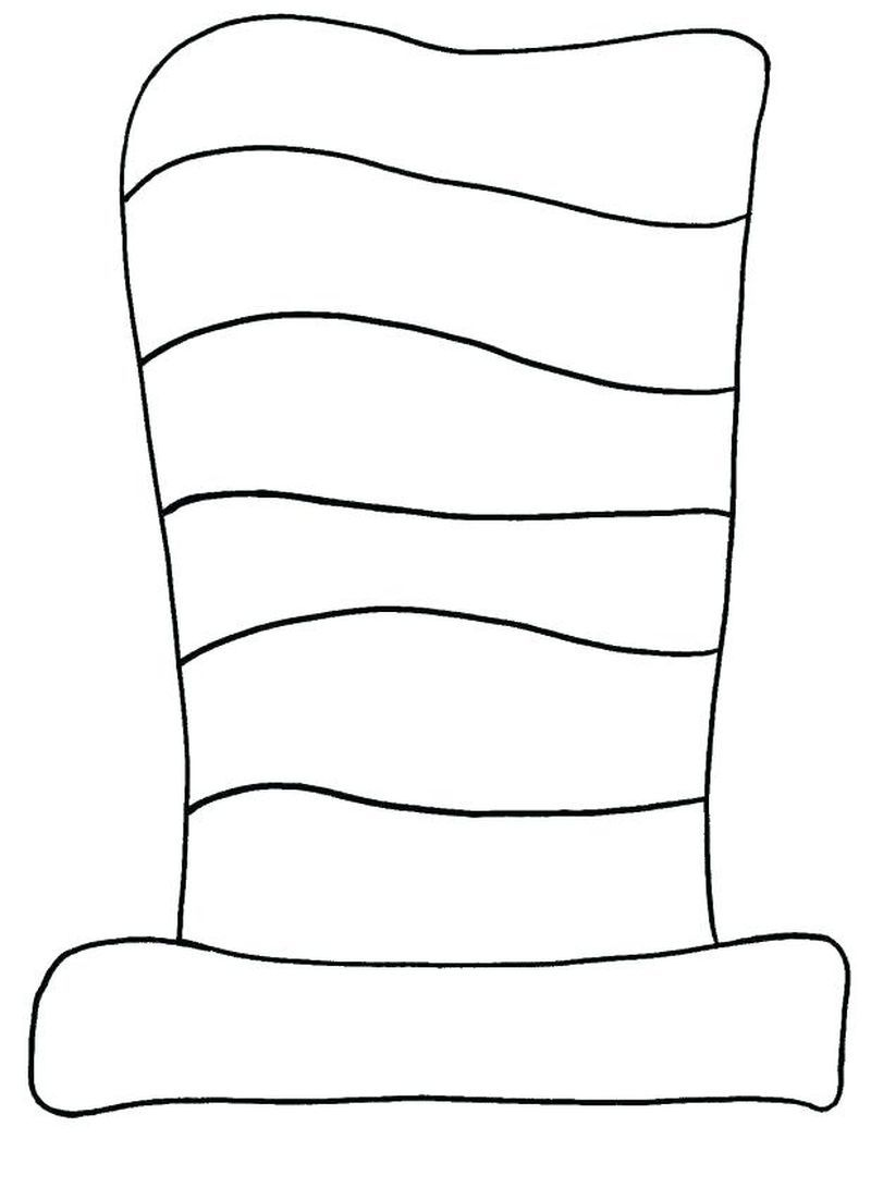 Cat In The Hat Coloring Pages Free Coloring Sheets Dr Seuss Hat Dr Seuss Crafts Dr Seuss Classroom