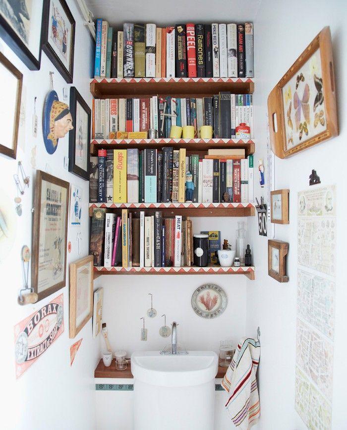 Étagère WC – 40 modèles pour trouver le meuble idéal | Etagere ...