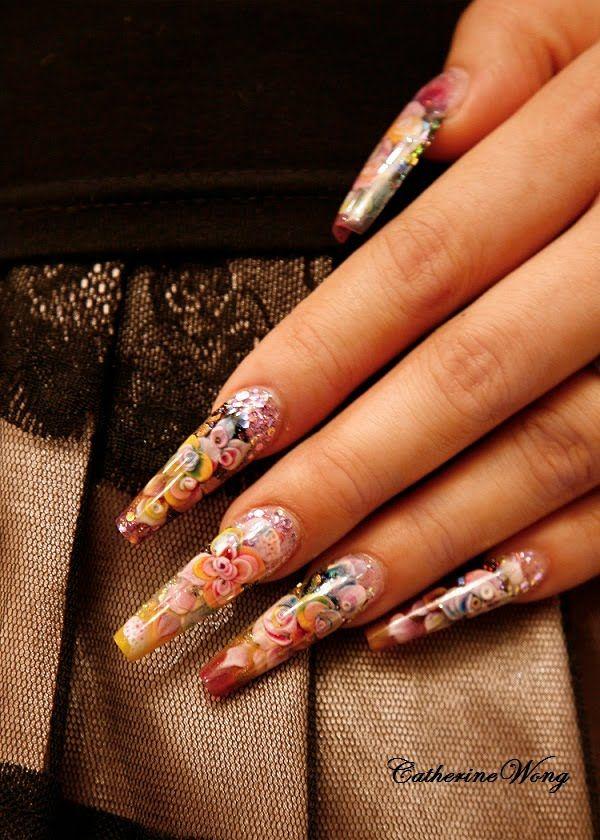 Catherine Wong nails....nail artist