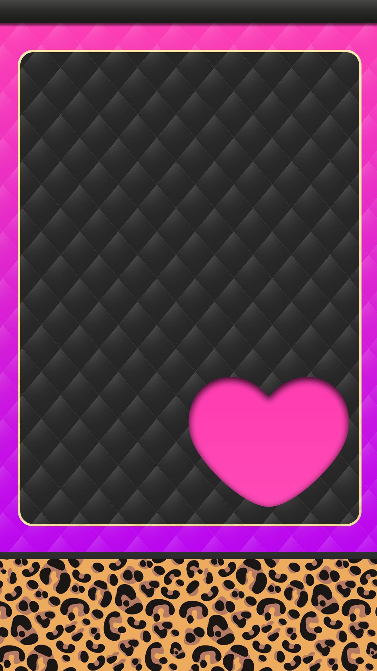 Iphone Wall Tjn Glitter Wallpaper Heart Wallpapero Kitty Wallpaper I Wallpaper
