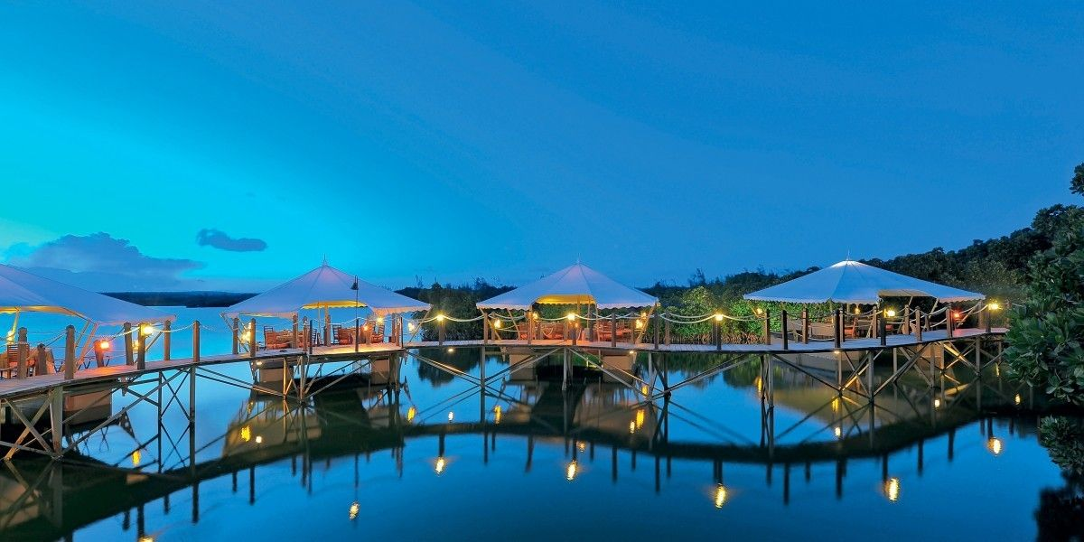 romantic places in mauritius