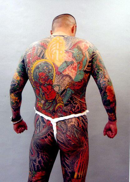 Tatouages Des Yakuzas Japonais Japanese Yakuza Tattoo Pinterest