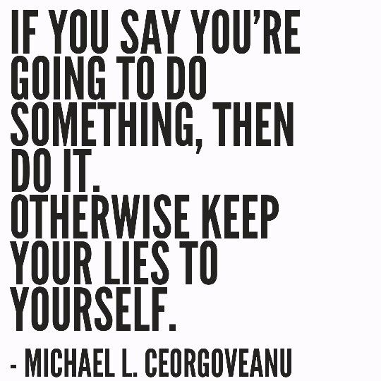 Keep Your Word Quote Motivational Greatness Quotes Keeping