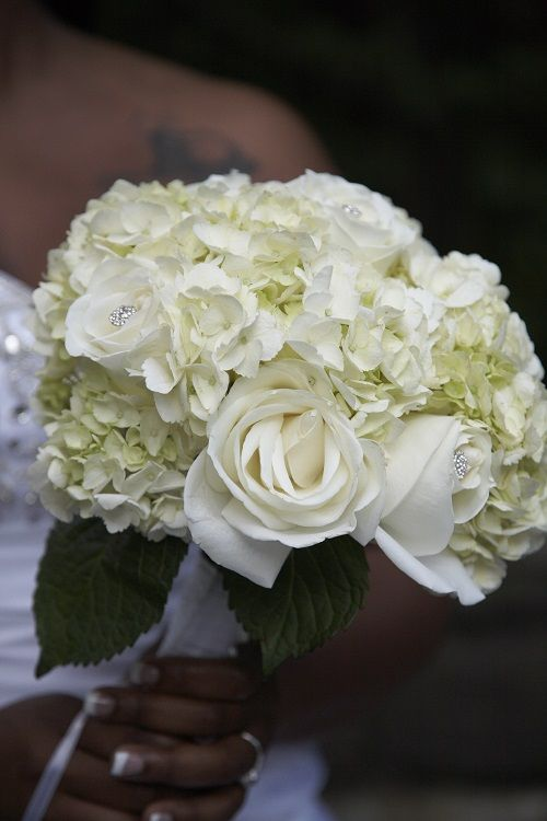 white hydrangea wedding bouquet white and hydrangea bridal bouquets 06 20 15 1342