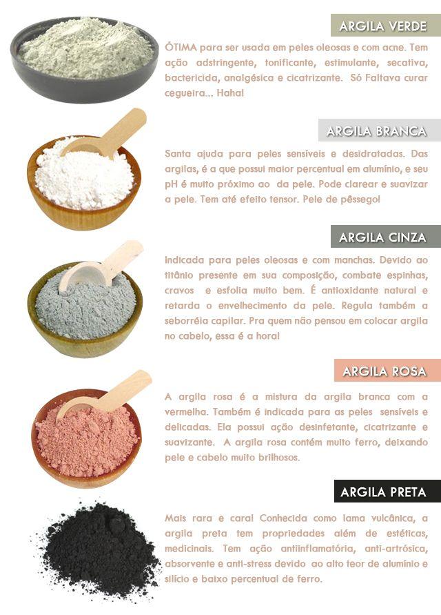 Tipos De Argila Nopoo Lowpoo Cosmetologia En 2019 Skin Care