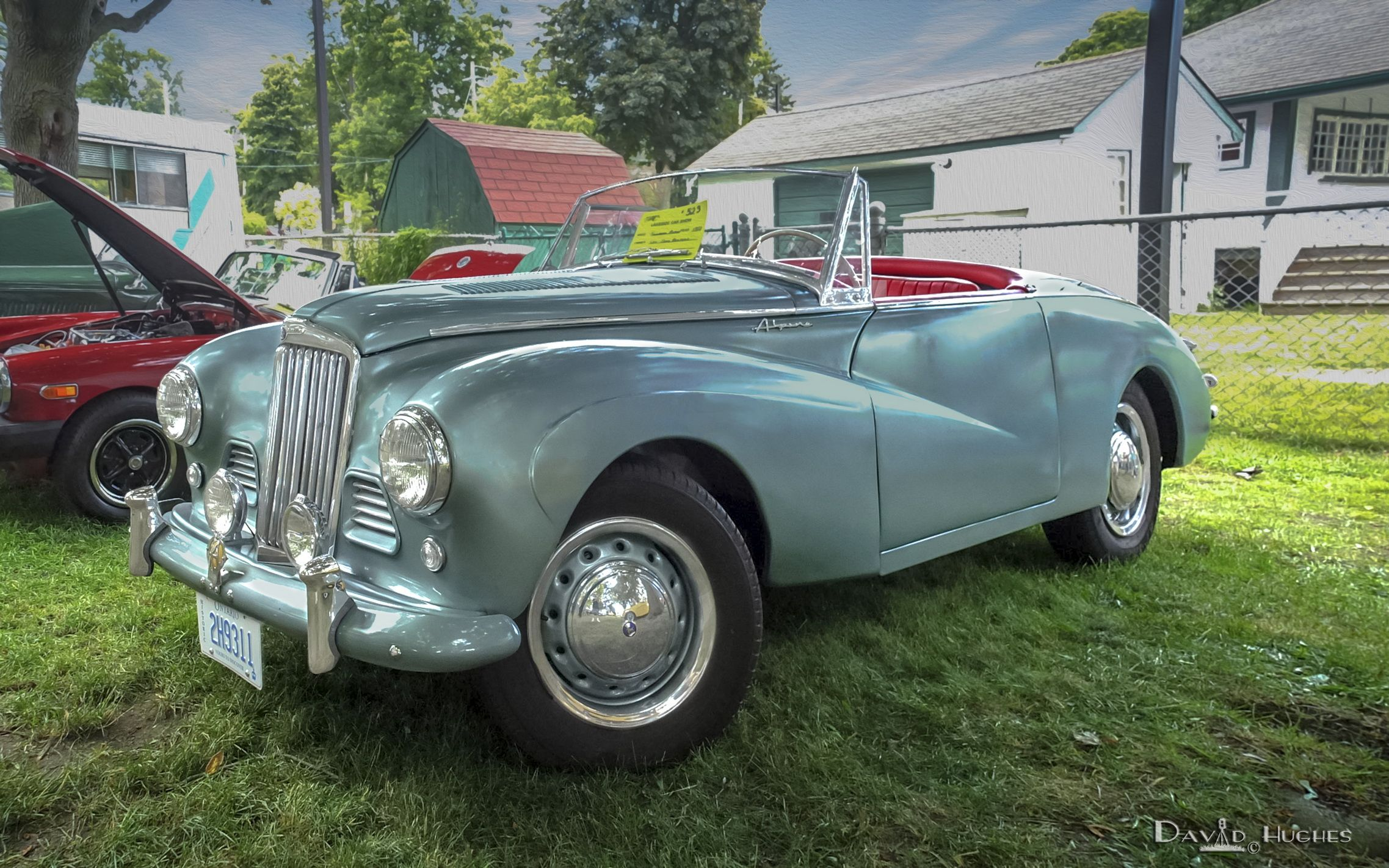 1953 Sunbeam Mark 1 Roadster Entered By British Sports Car Club Of Canada Eastenders Chapter