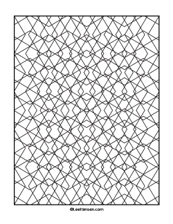 Diamonds Geometric Pattern Coloring Page For Adults Pattern Coloring Pages Geometric Coloring Pages Printable Coloring Book