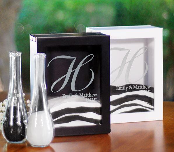 Enchanting Sand Ceremony Picture Frame Set Composition - Ideas de ...