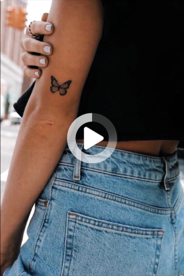 Pin on Tatuaże Motyla