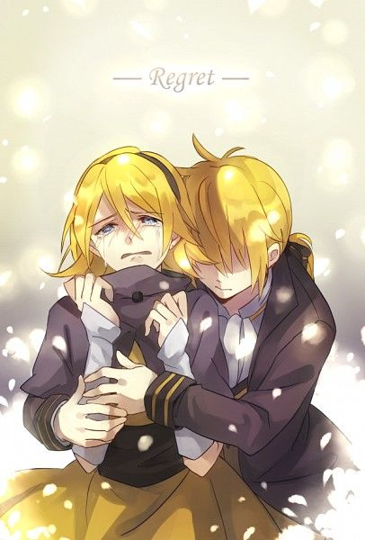 Vocaloid Regret Message Mothy Feat Kagamine Rin 600x886 522kb