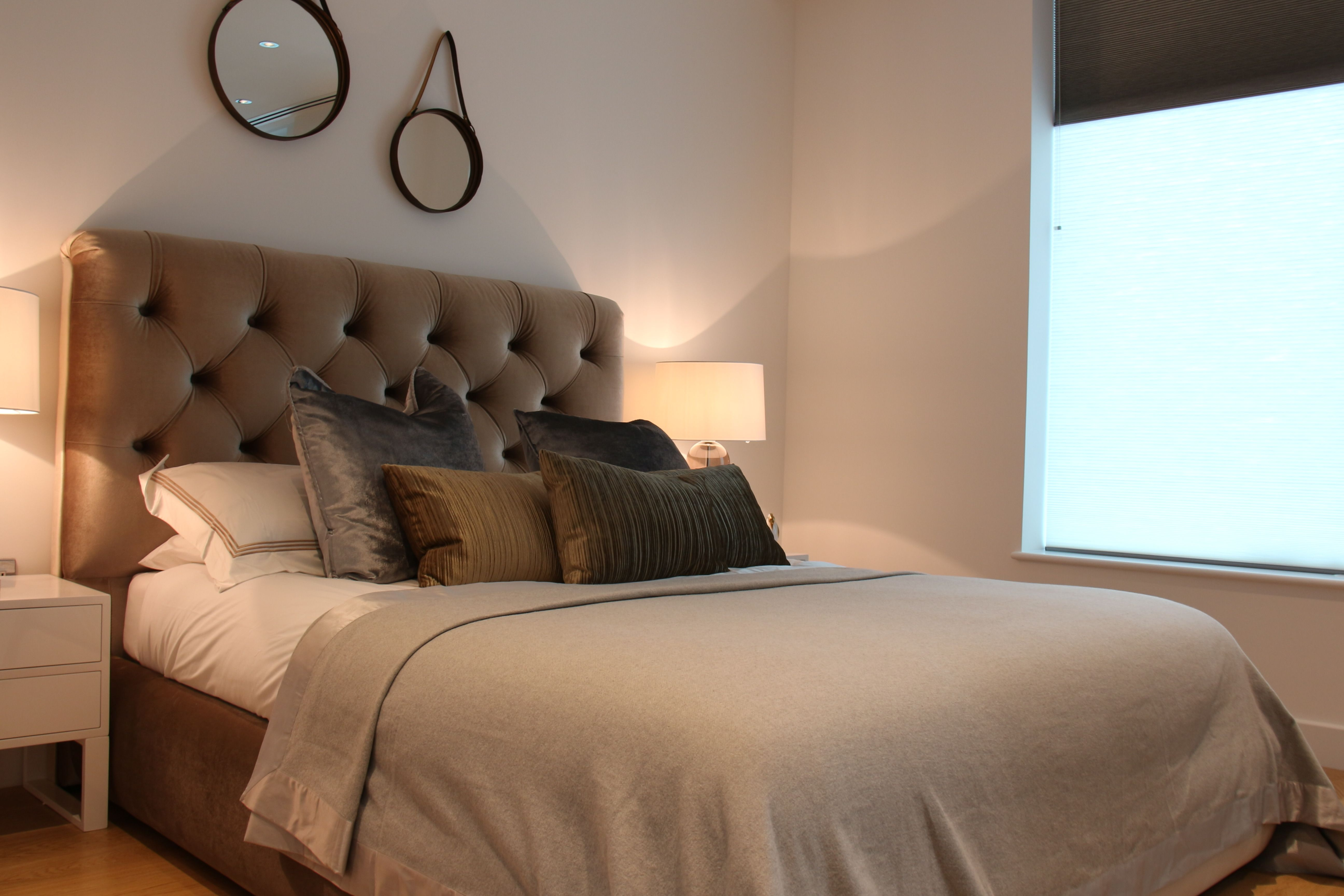 Deeppadded upholstery and plush pillows how to divide your