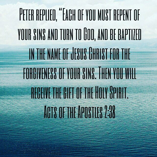 #Repentance #OneBaptism #ScriptureOfTheDay #BibleVerseOfTheDay #Salvation #HolyGhost #Jesus #Acts238 #Apostolic by jayc106 http://ift.tt/1KAavV3