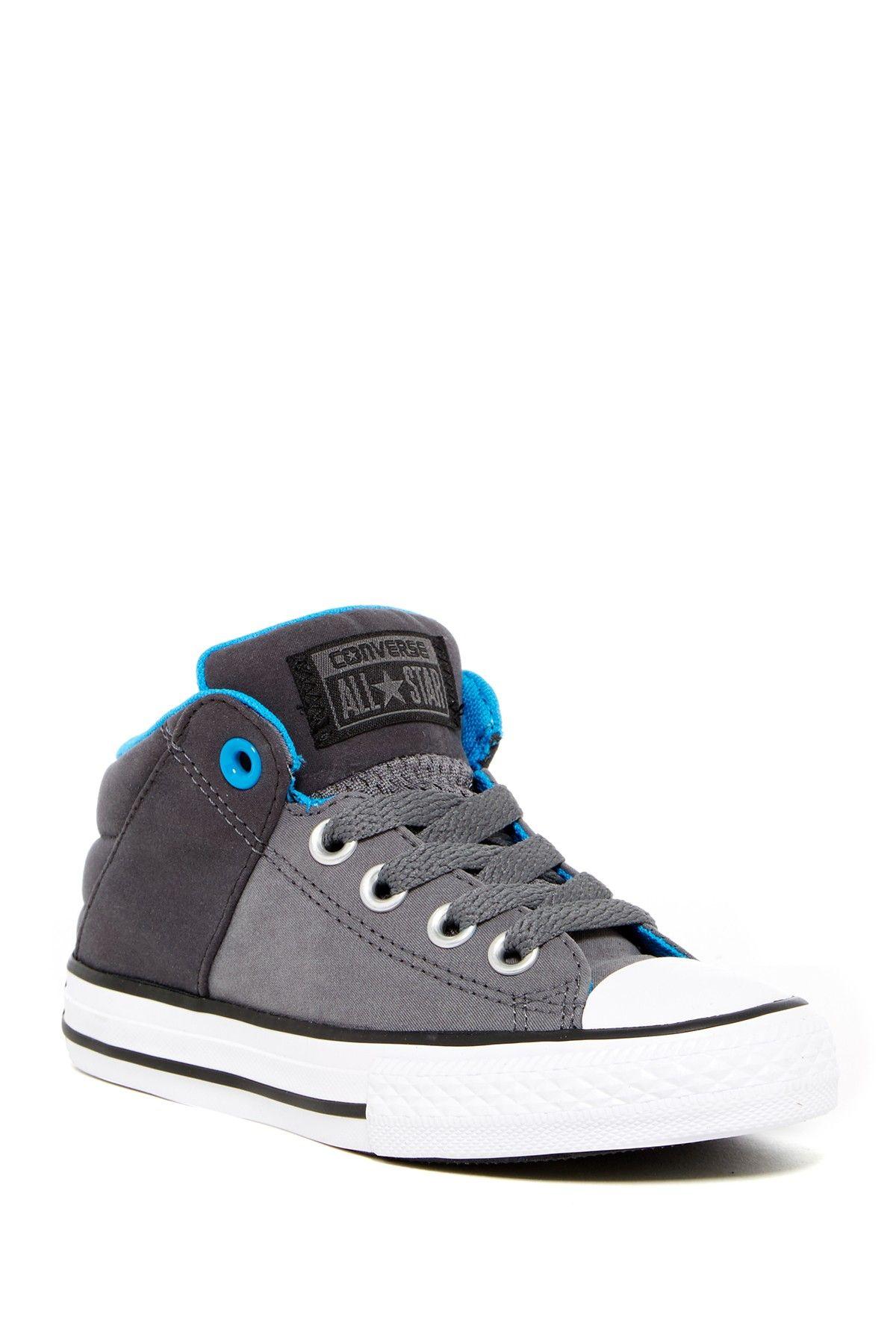 Chuck Taylor All Star Axel Mid Slip On Sneaker (Little Kid