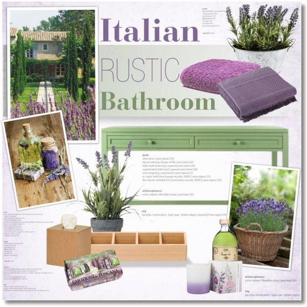 Italian Rustic Bathroom