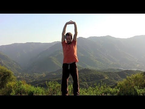 "tadasana ""mt pose series"" with travis eliot 30 min from"