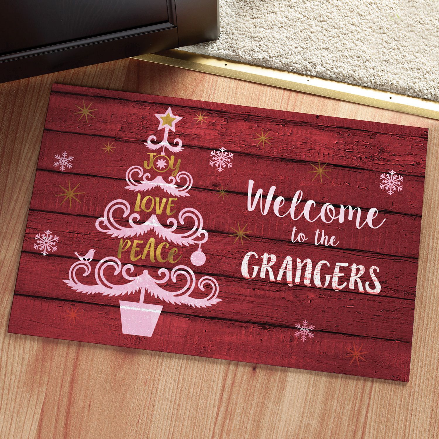 christmas door mats outdoor. personalized christmas doormat | personalized planet christmas door mats outdoor