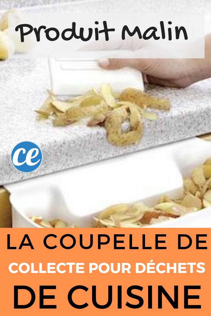 Probleme De Moucheron Dans La Cuisine produit malin : la coupelle de collecte pour déchets de