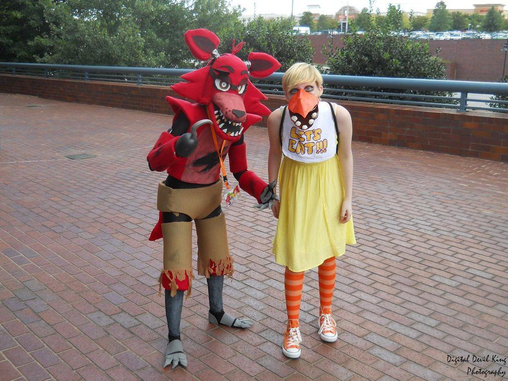 Foxy and chica freddy costume foxy costume chica costume