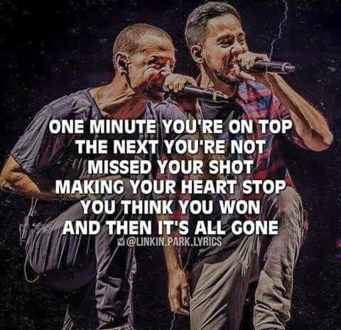 Hit The Floor Linkin Park Lyrics