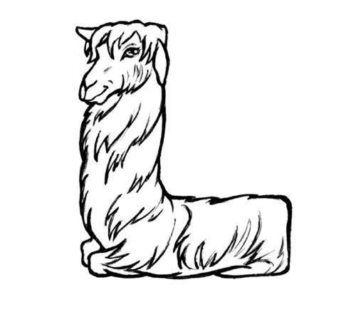 L is a Llama
