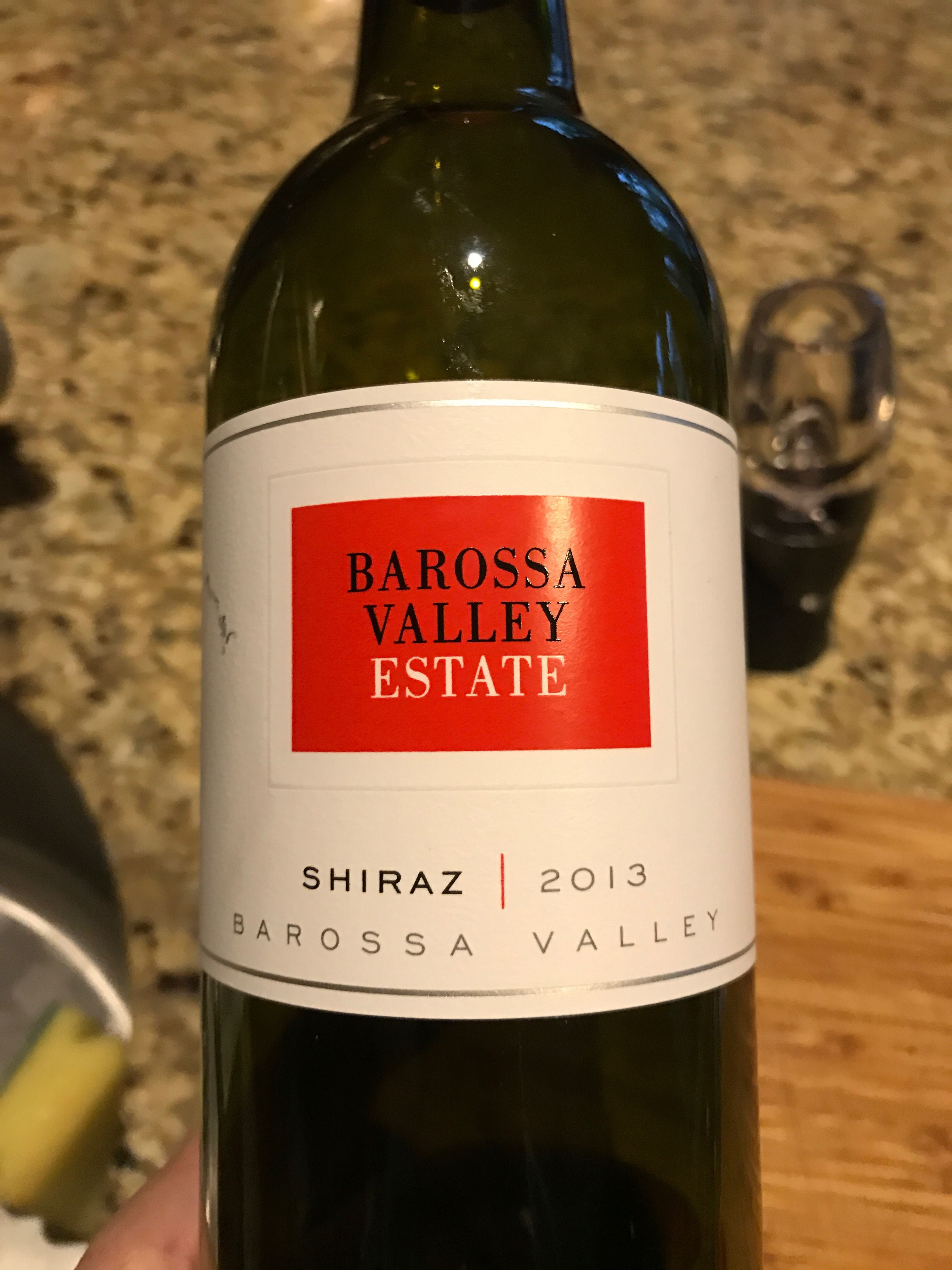 Enjoyed This Barossa Valley Estate Shiraz At Home New Year S Eve 2016 16 From Kroger Favorite Wine Wine Bottle New Years Eve 2016