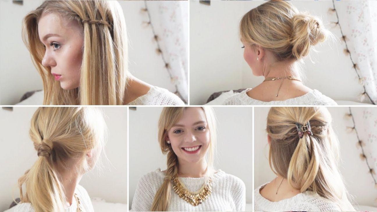 Easy Hairstyles Medium Length Hair - Medium Hairstyles Easy ...