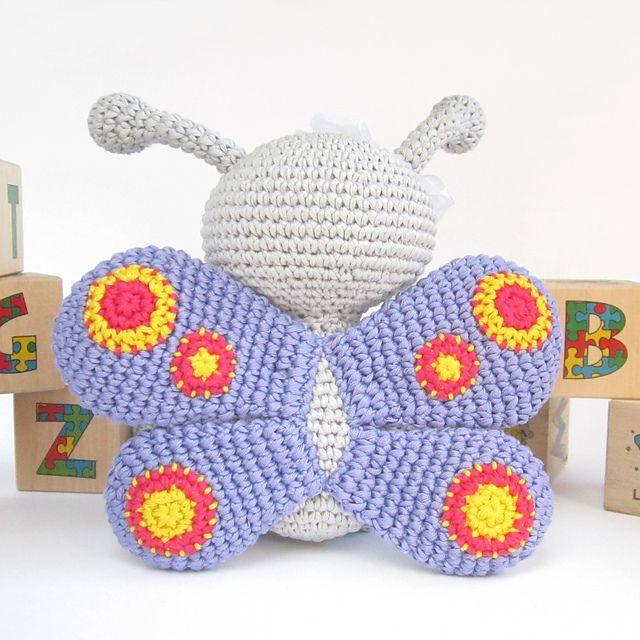 Ravelry: Modelo de mariposa de patas largas por Kristi Tulio