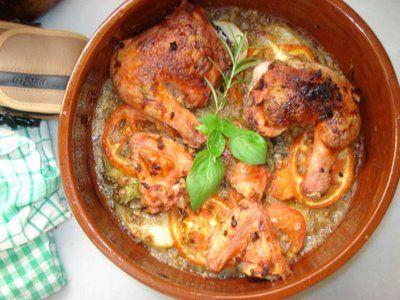 طريقة عمل دجاج مشوي بالفرن بطريقة جديدة شهيه طيبه Egyptian Food Chicken Recipes Food