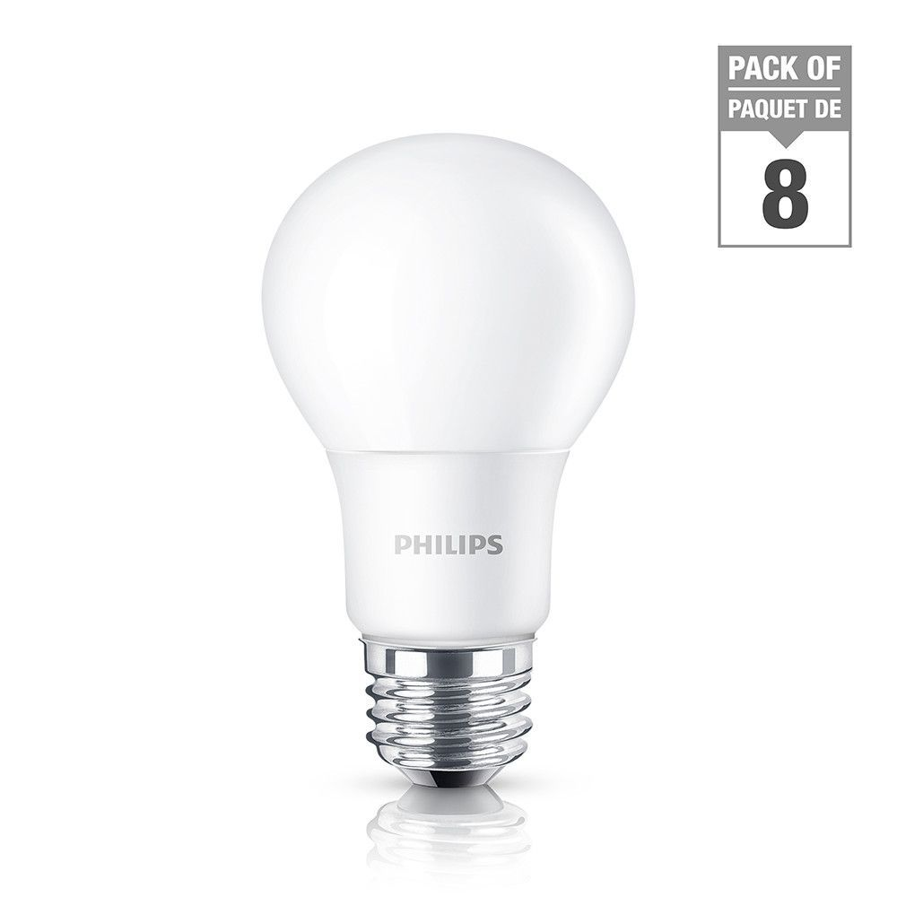 Led 100w A19 Soft White 2700k Non Dimmable Case Of 8 Bulbs Light Bulb Led Bulb Dimmable Led Lights