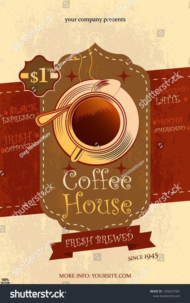 Coffee design. vector EPS 10. Restaurant or coffee house