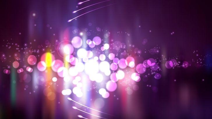Purple Lights Blurry Lights Purple Colour Wallpaper Mac Wallpaper