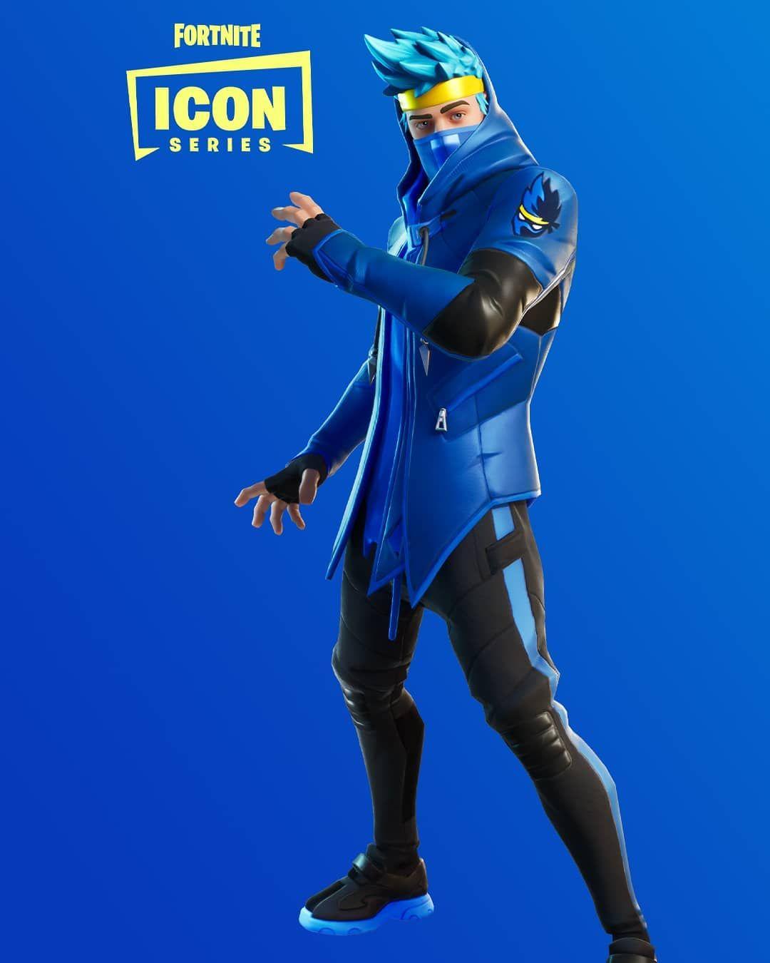 Fortnitea ünlü yayıncı Tyler Ninja Blevinsin kostümü ...