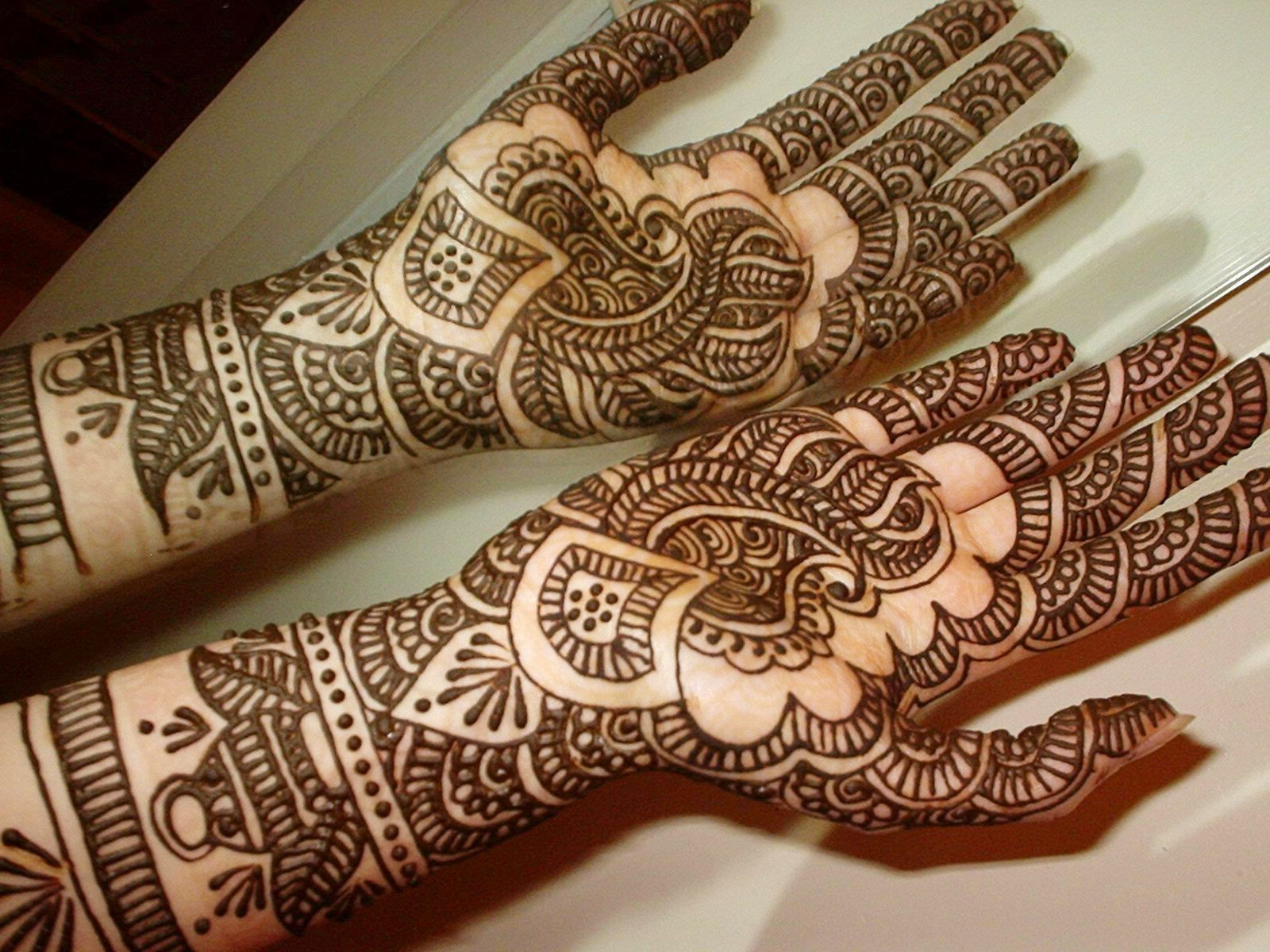 Tatuajes Mehndi Diseños : This one is truly interesting and very attractive mehndi designs
