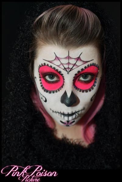 pink sugar skull!