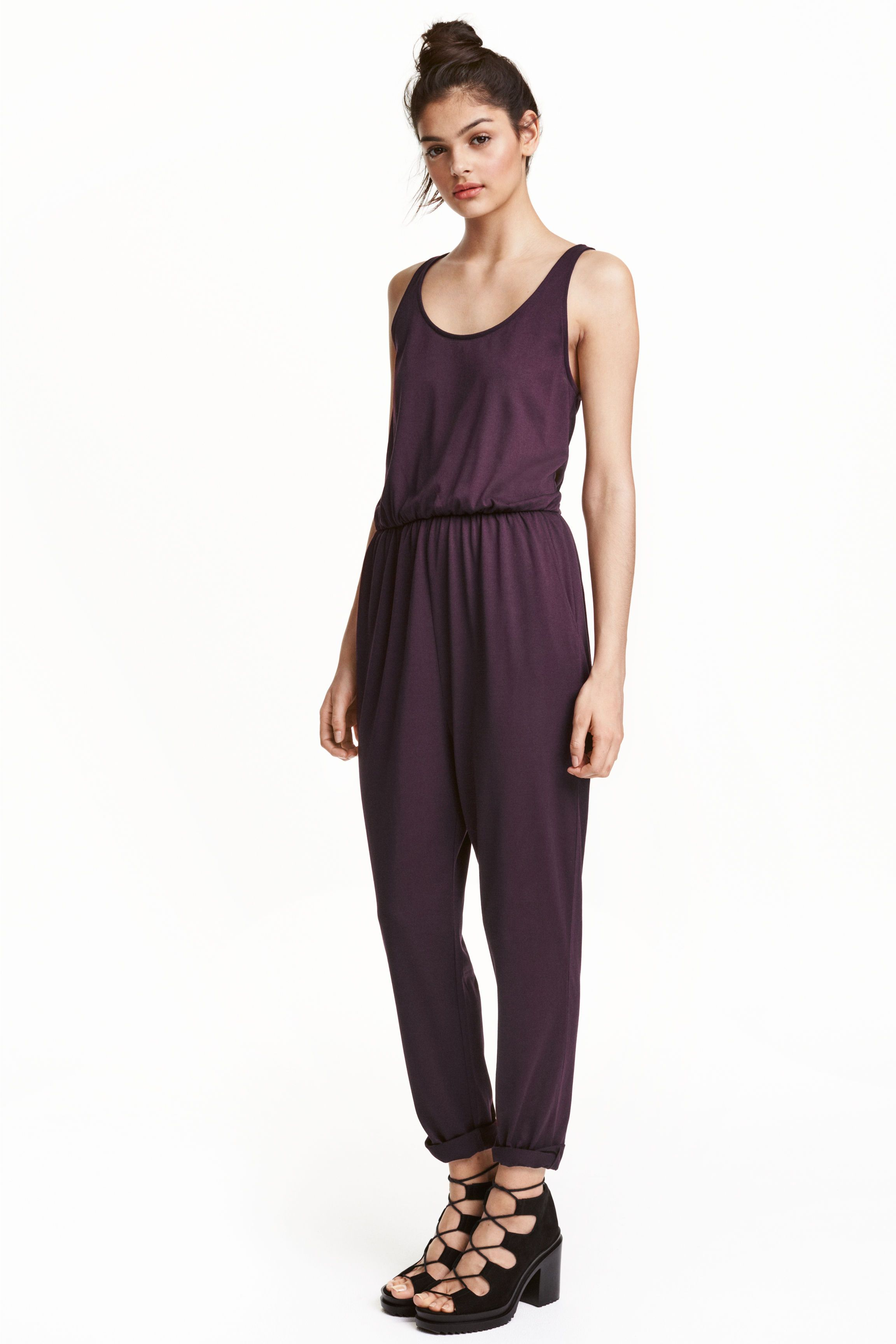 Free Shipping Fashion Style Free Shipping Fast Delivery H&M + Sleeveless jumpsuit Brand New Unisex For Sale DkTrH