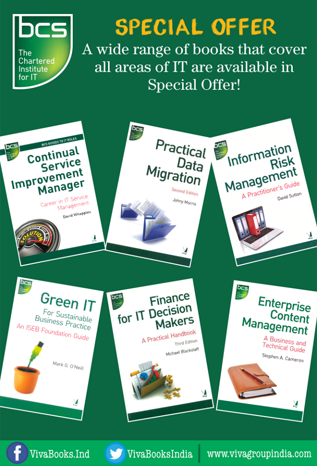 Special Offer It And Business Books From Bcs The Chartered Institute For It Available In Special Offer Http W Business Books Enterprise Business Books
