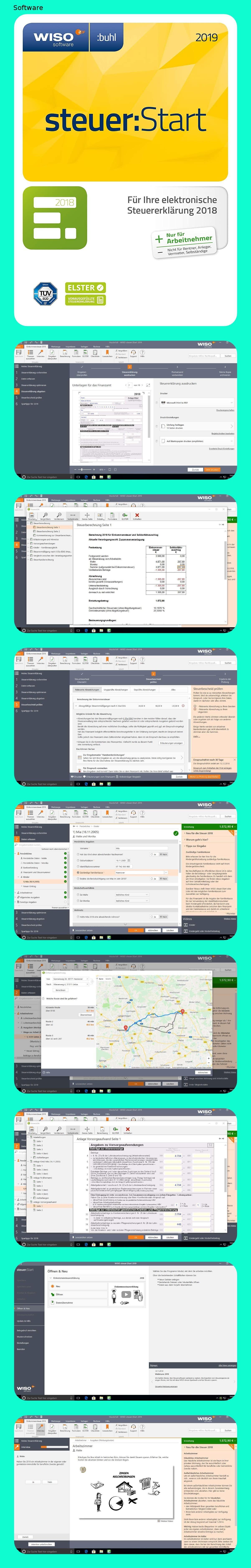 Wiso Steuer Start 2019 Fur Steuerjahr 2018 Aktivierungscode Per Email 148o In 2020 Mit Bildern
