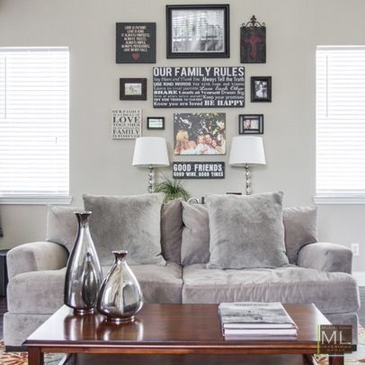 Family Room | Rowlett Lakehouse Staged to DWELL | Michelle Lynne INTERIORS Group | Dallas TX