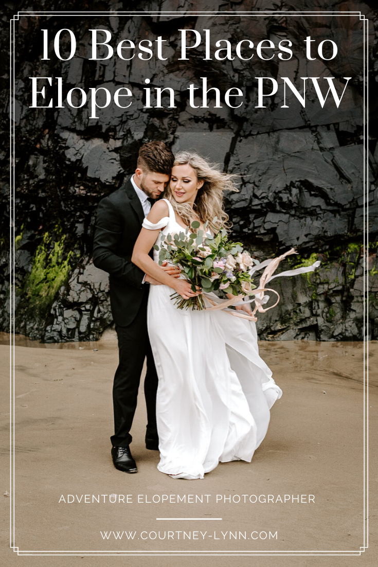 best Places to Elope in the Pacific Northwest | pnw elopement photography | places to elope in oregon | places to elope in washington state | pnw elopement | elopement ideas pnw | pnw forest elopement | pnw beach elopement