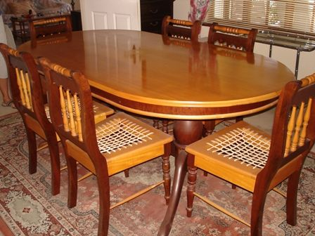 Yellowood Dining Table X6 Chairs R7 000 Call Judy To Sell Your